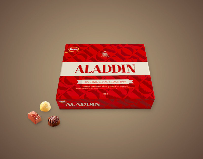 Aladdin-Svedska-Cokolada