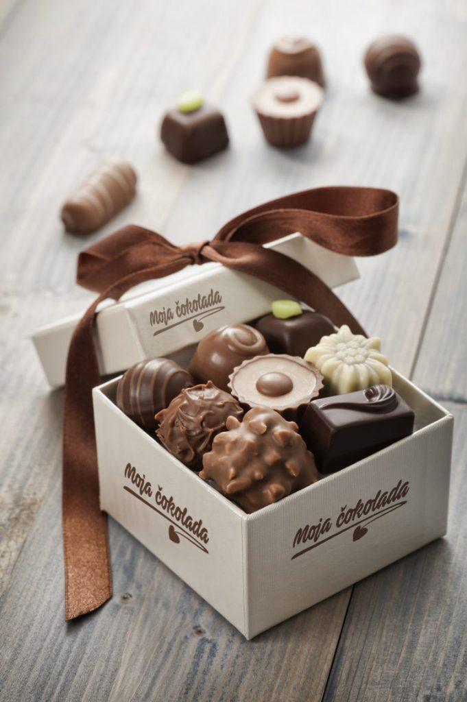 Poklon pakovanje cokolade