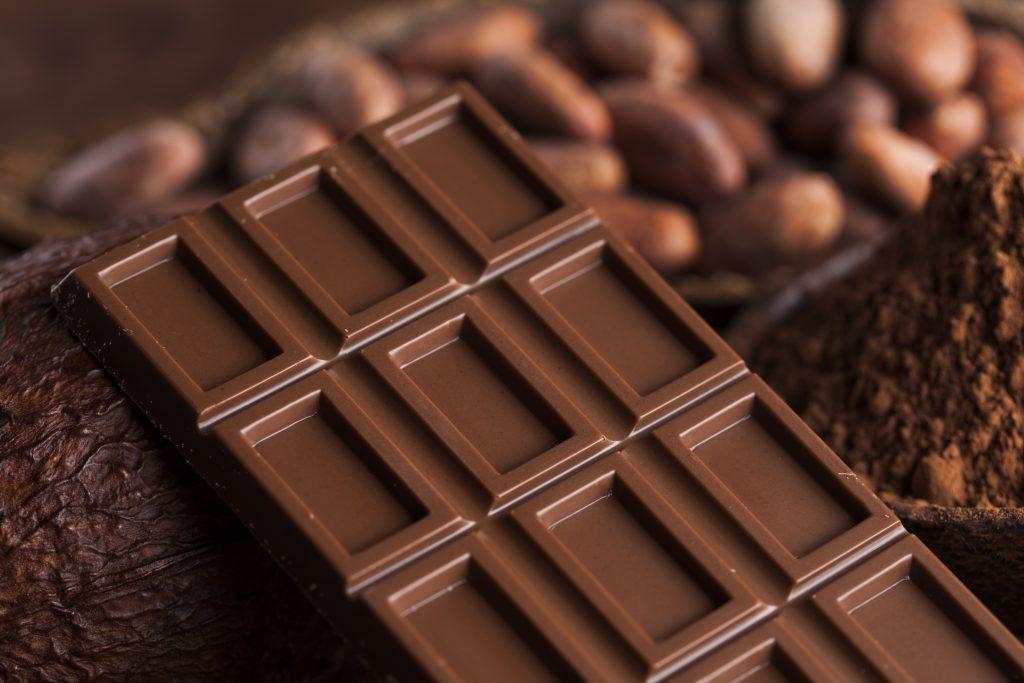 Jedenje cokolade po glavi stanovnika