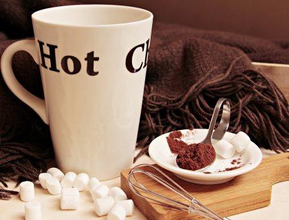Topla čokolada kao zimski napitak