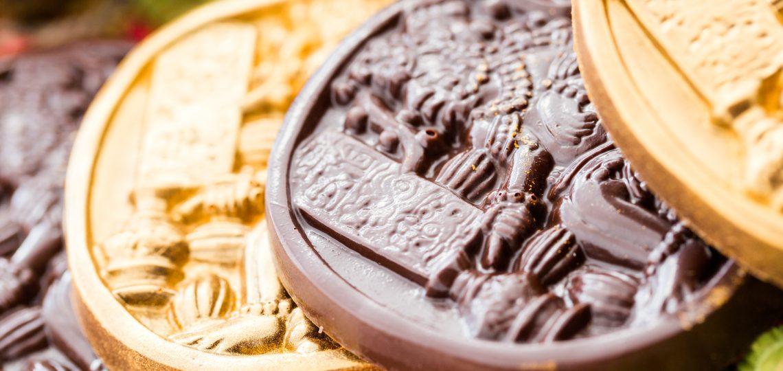 Majanski cokoladni novcici