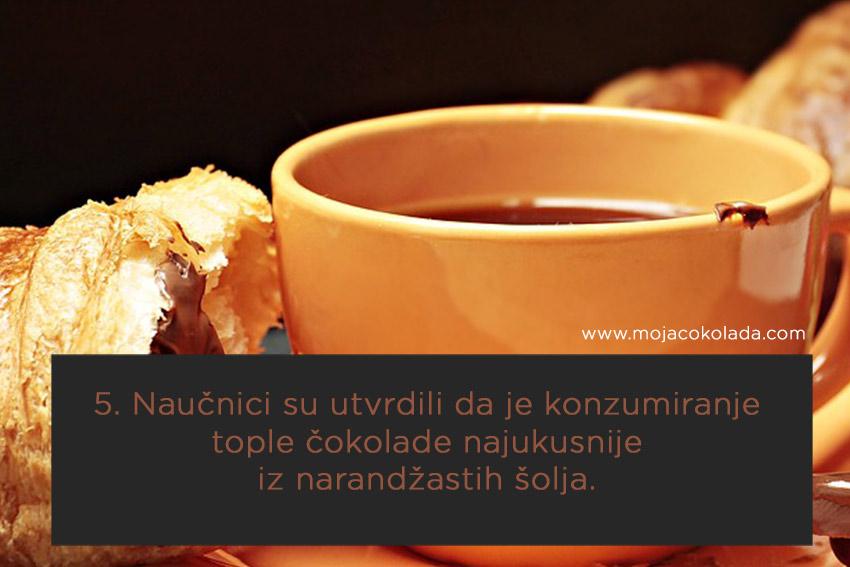 Topla čokolada istraživanje