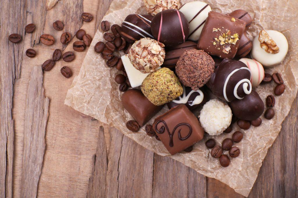 Cokoladni asortiman cokolanih pralina