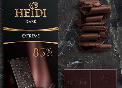 Heidi crna svajcarska cokolada