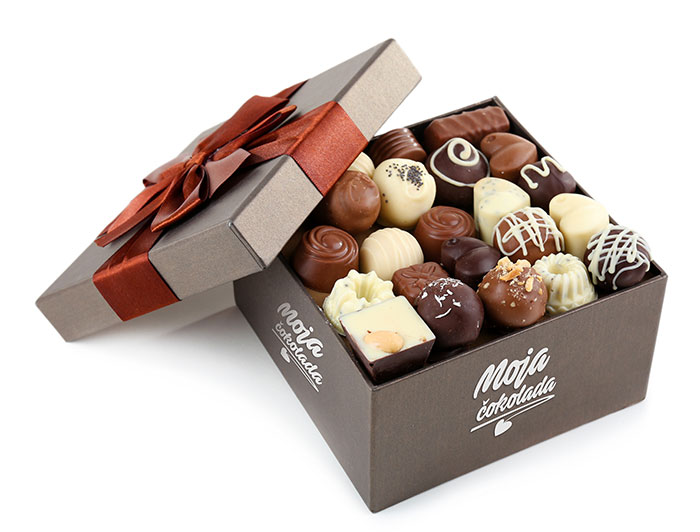 Moja čokolada poklon pakovanje