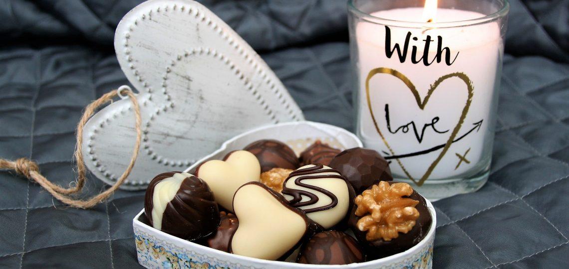 Poklon pakovanje čokolade se porukom