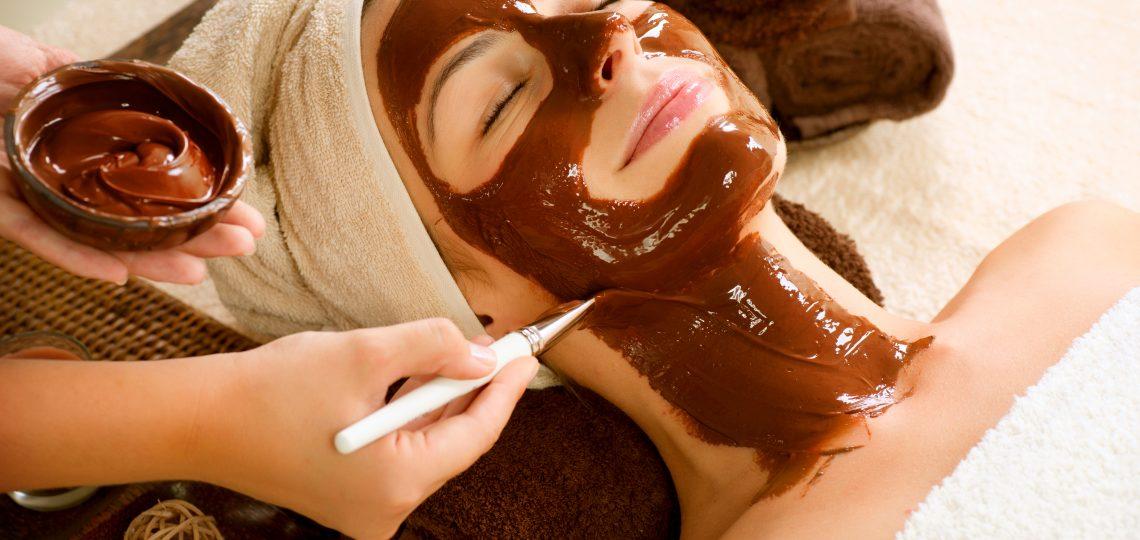 Čokoladna maska za negu lica