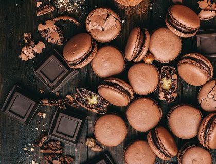 Posni čokoladni išleri