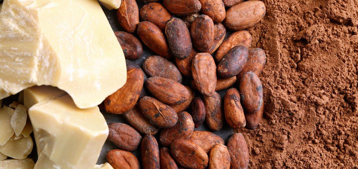 Kako buter i kakao prah