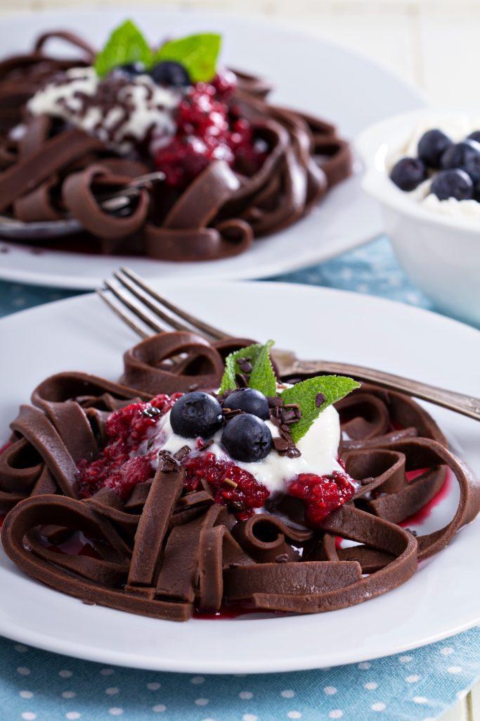 Čokoladna pasta sa šlagom