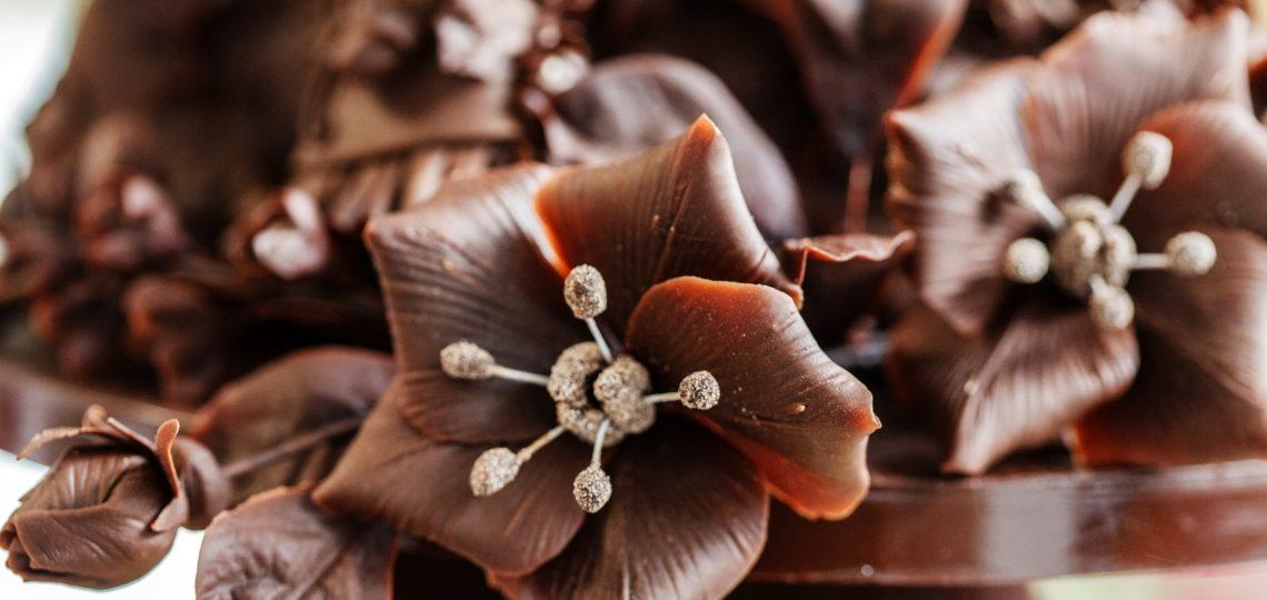 Čokoladni cvetovi