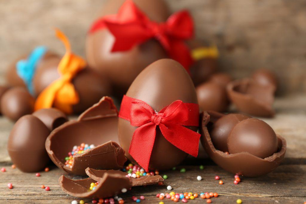 Uskršnja jaja od čokolade