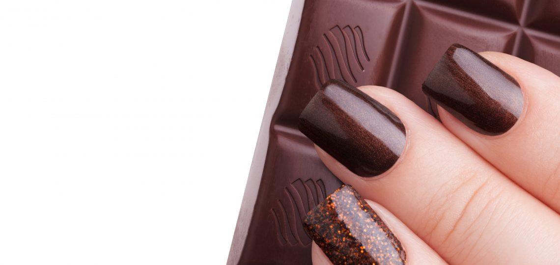 Čokoladni lak za nokte