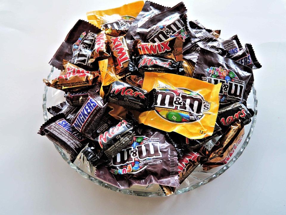 Snickers, m&m, mars i twix cokoladice