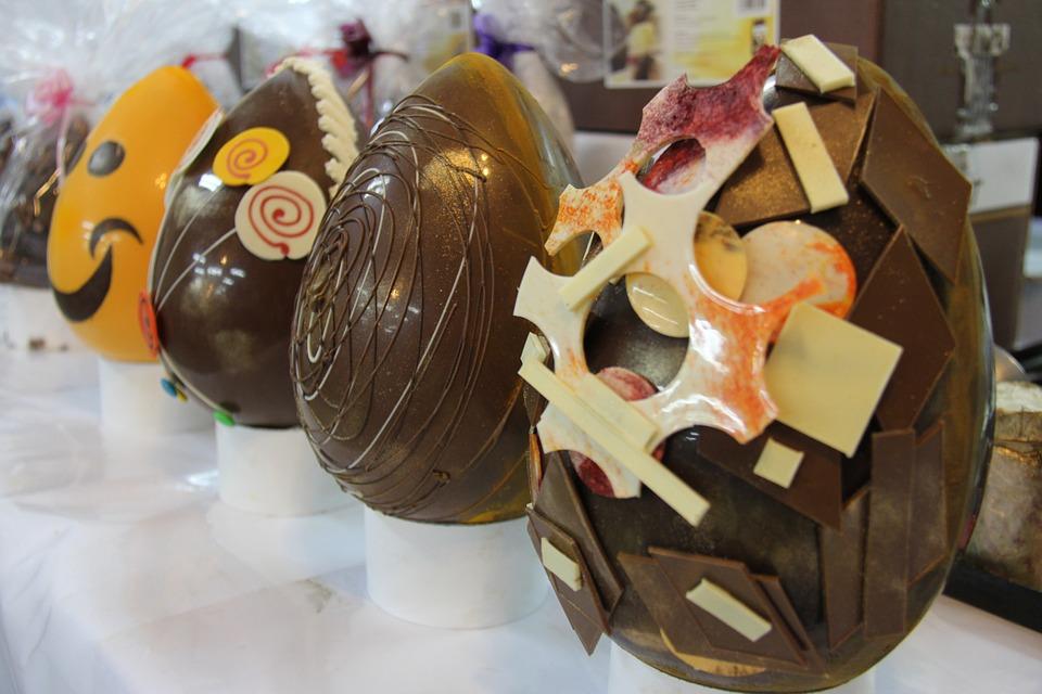Ukrasena cokoladna jaja