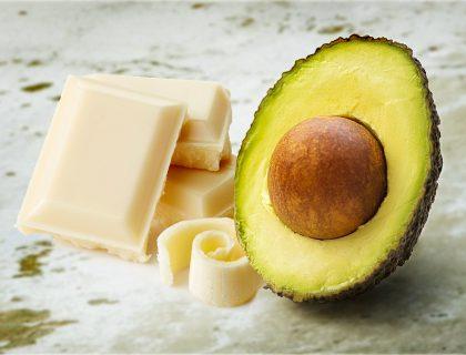 Avokado i bela čokolada