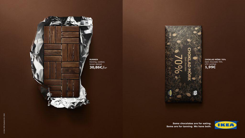Ikea posteri sa čokoladom