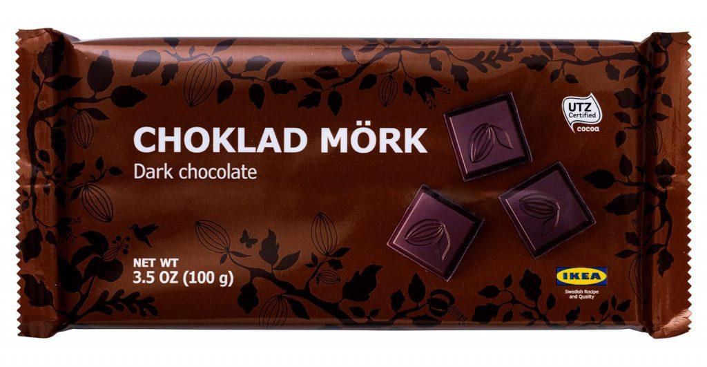Ikea crna čokolada