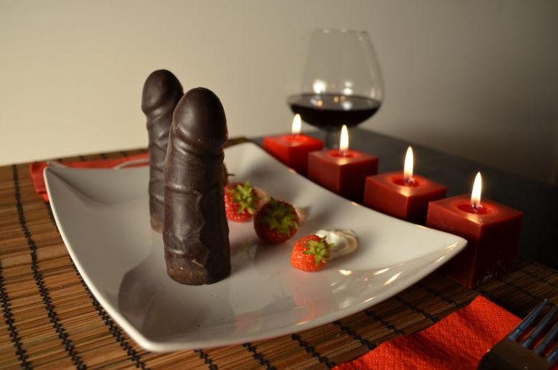Penisi od crne čokolade