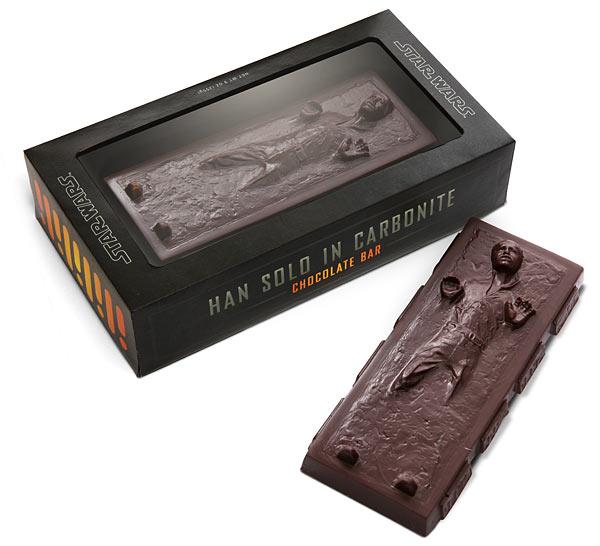 Han Solo od čokolade