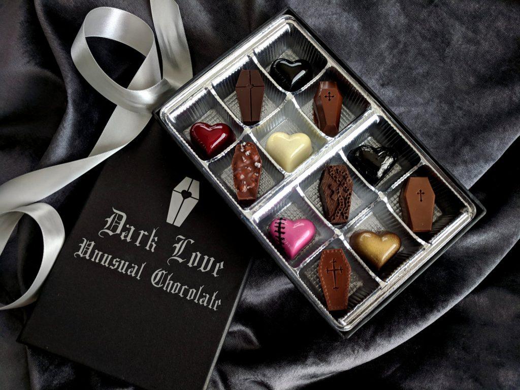 Čokoladne praline u kutijici