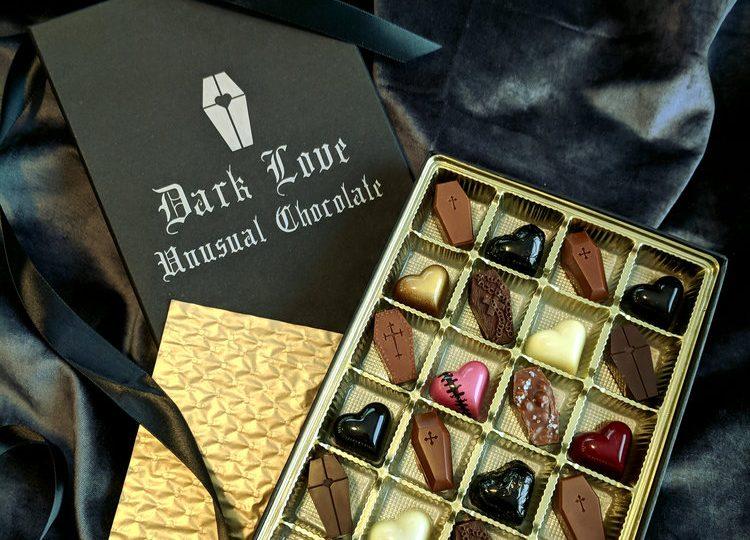 Cokoladice Dark Love bombonjera