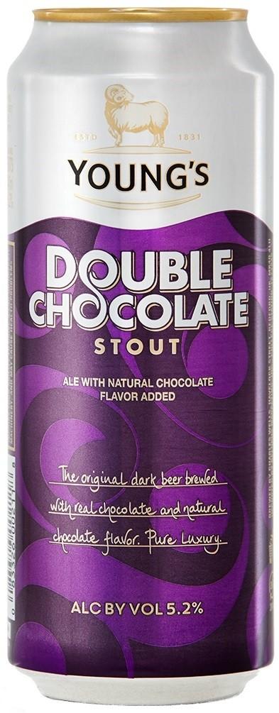Youngs double chocolate pivo čokoladno pivo
