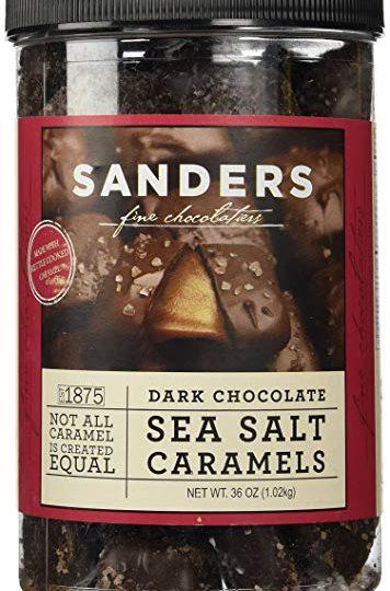 Sanders čokolada sa morskom solju