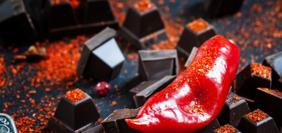 Crna čokolada sa feferonima