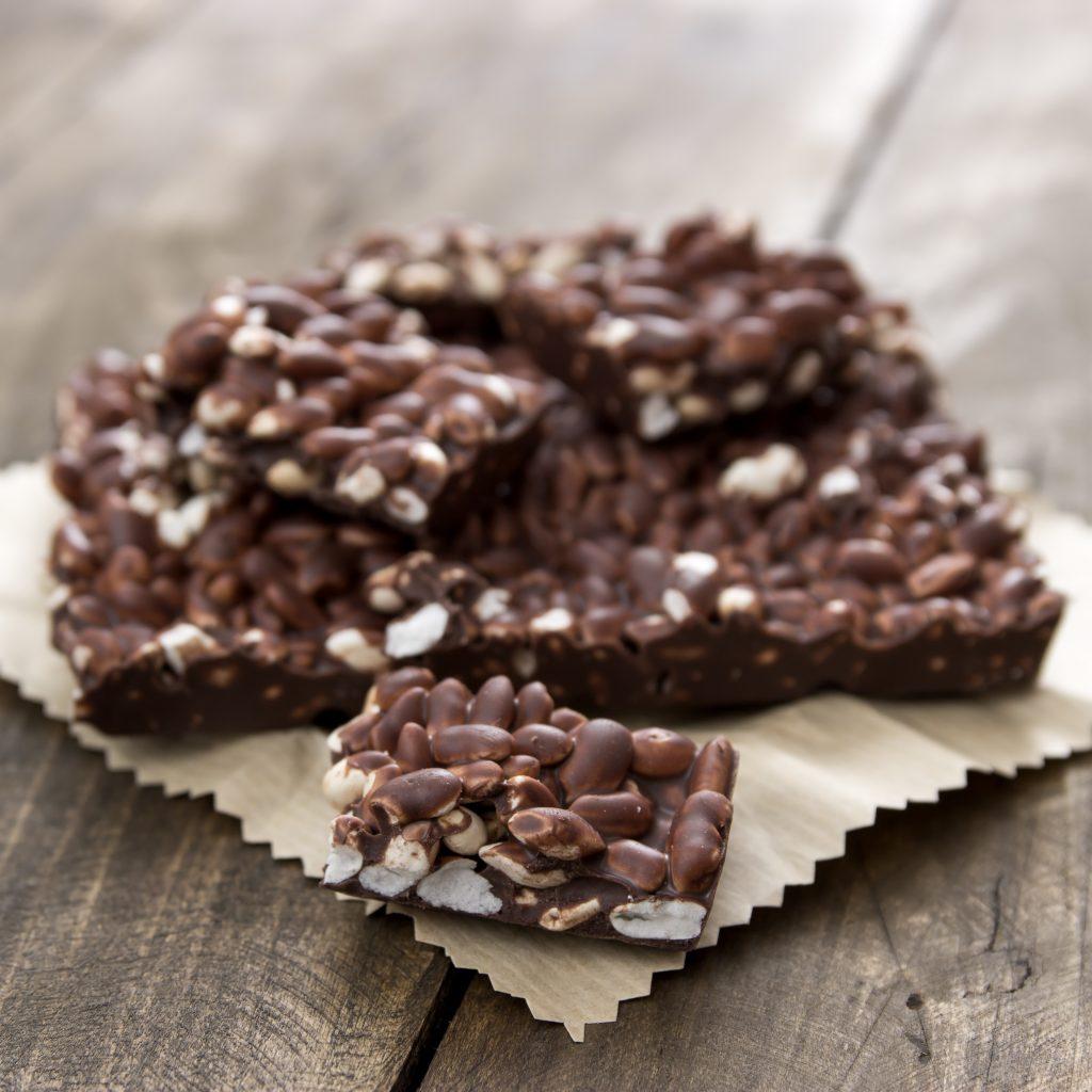 Čokolada sa ekspandiranim pirinčem