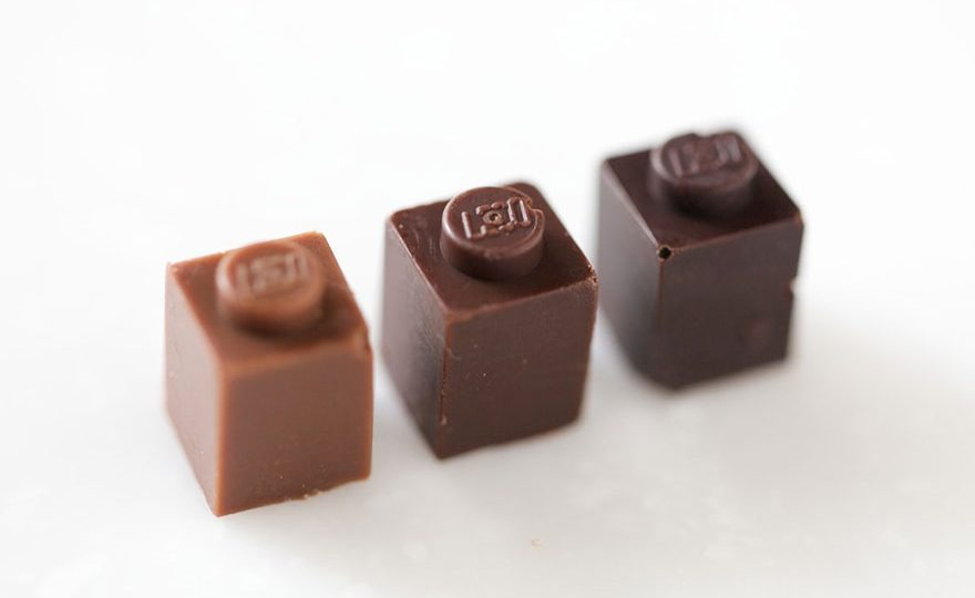 Čokoladne lego kockice