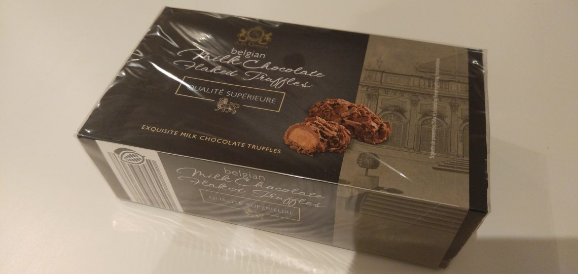 Belgijski čokoladni trufli
