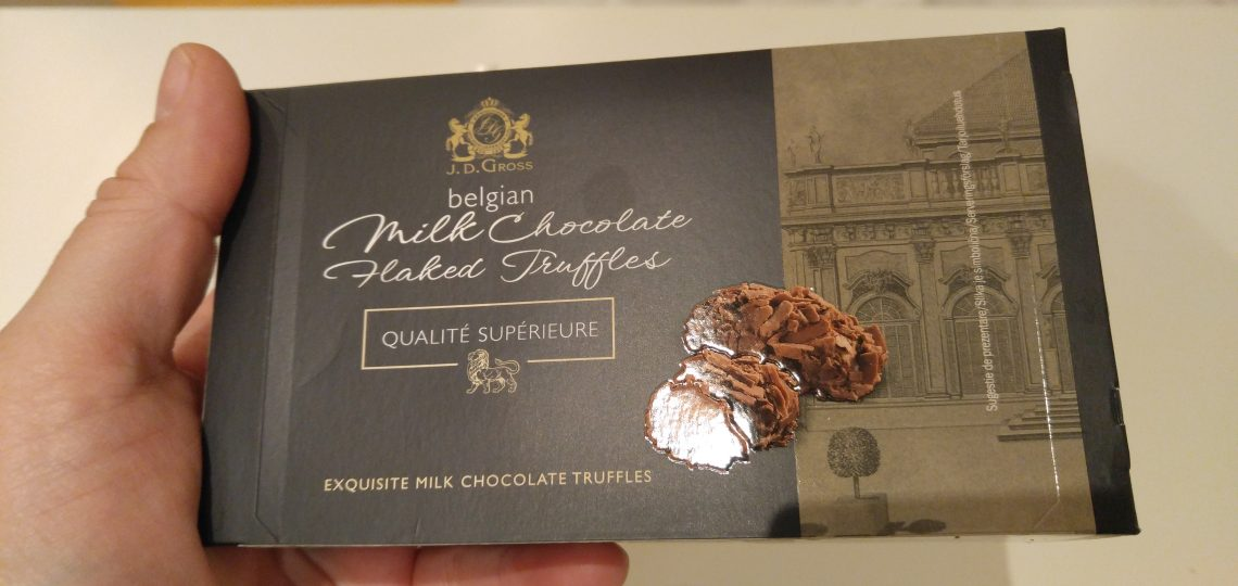 Belgijske mlecne cokolade