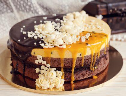 Romantična čokoladna torta