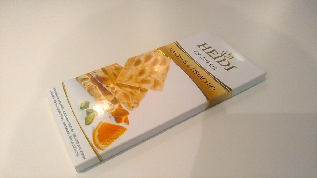 Heidi bela čokolada