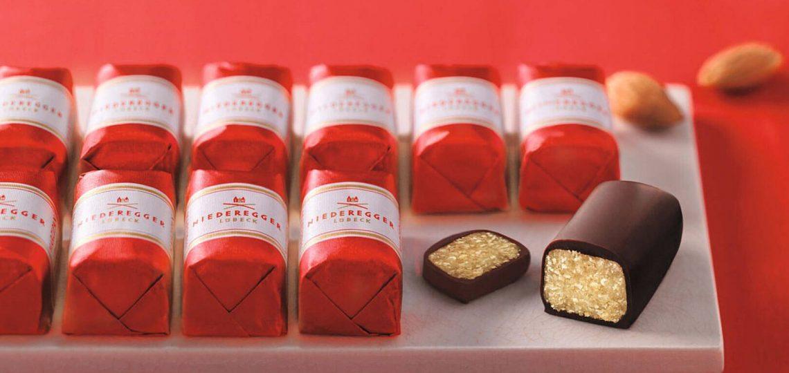 Čokoladice marcipana
