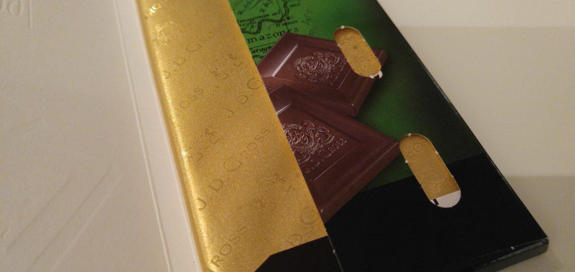Crna čokolada omot