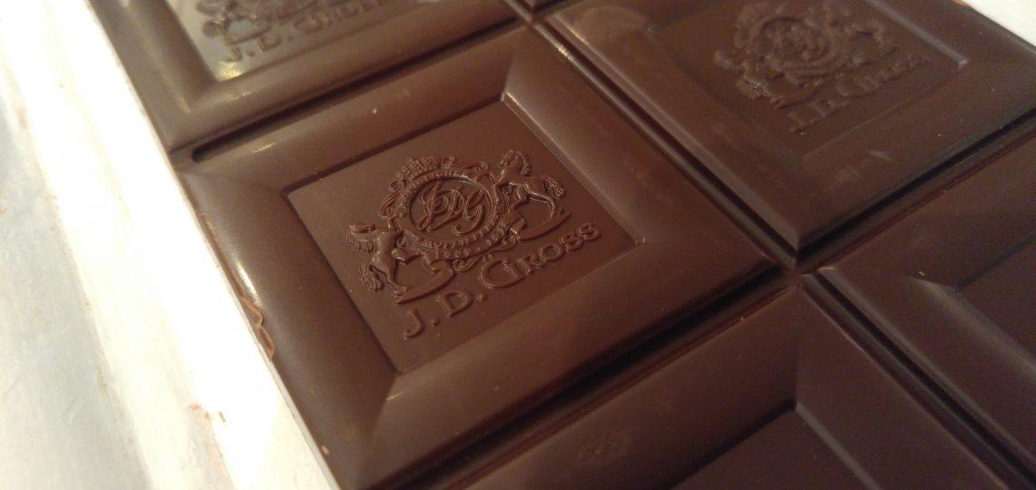 Kockice crne čokolade iz Lidla