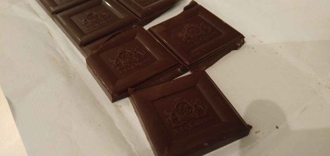 Crna čokolade