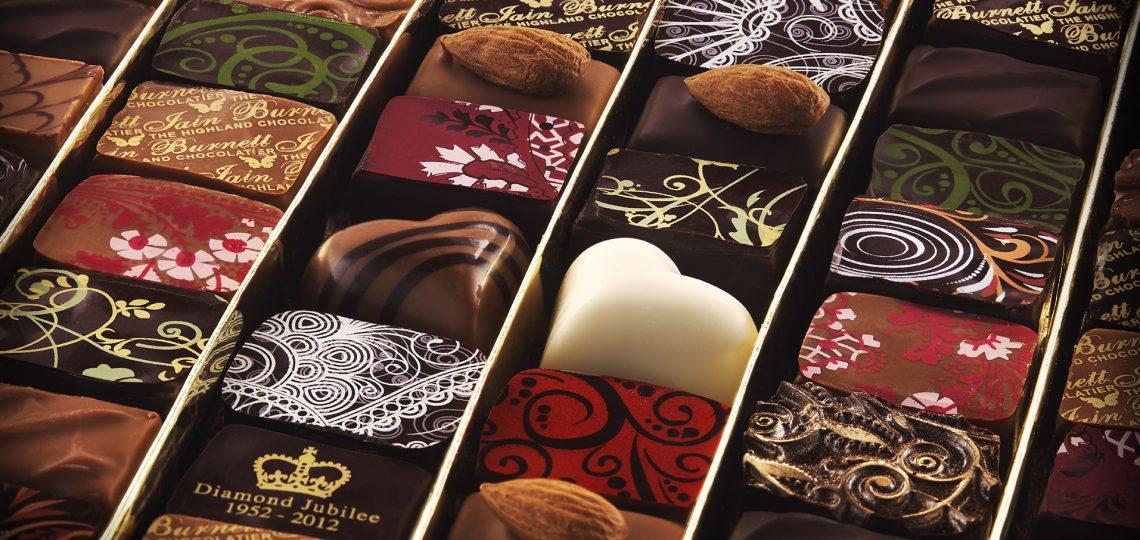 Iain Burnett čokoladne praline