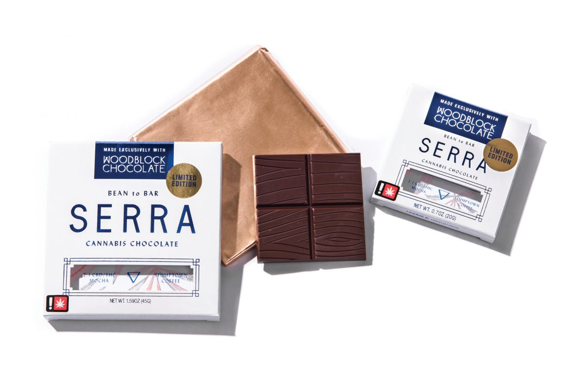 Serra čokolada sa kanabisom