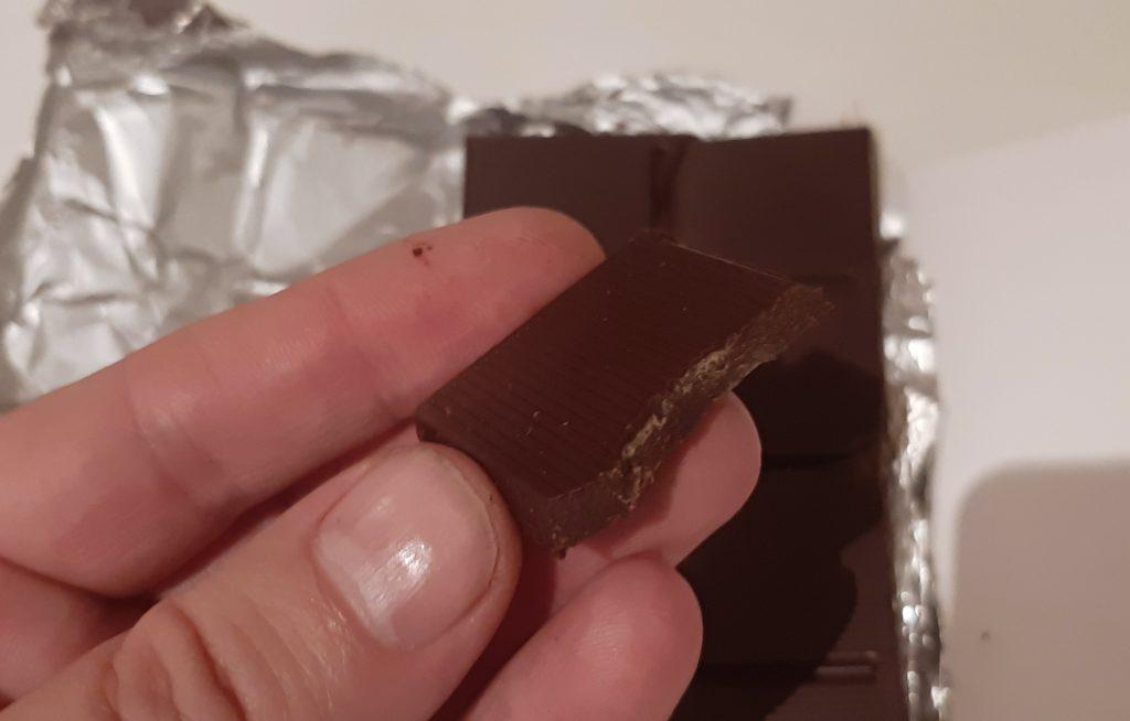 Cokolada sa solima u kockicama