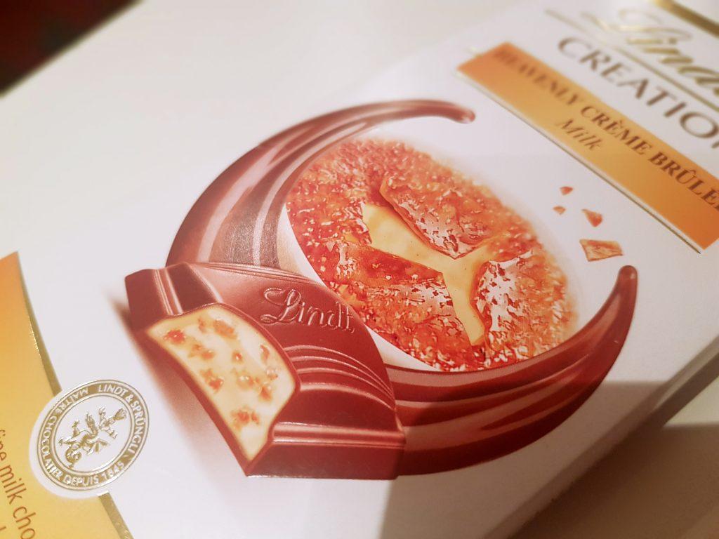 Lindt Creme Brulee cokolada