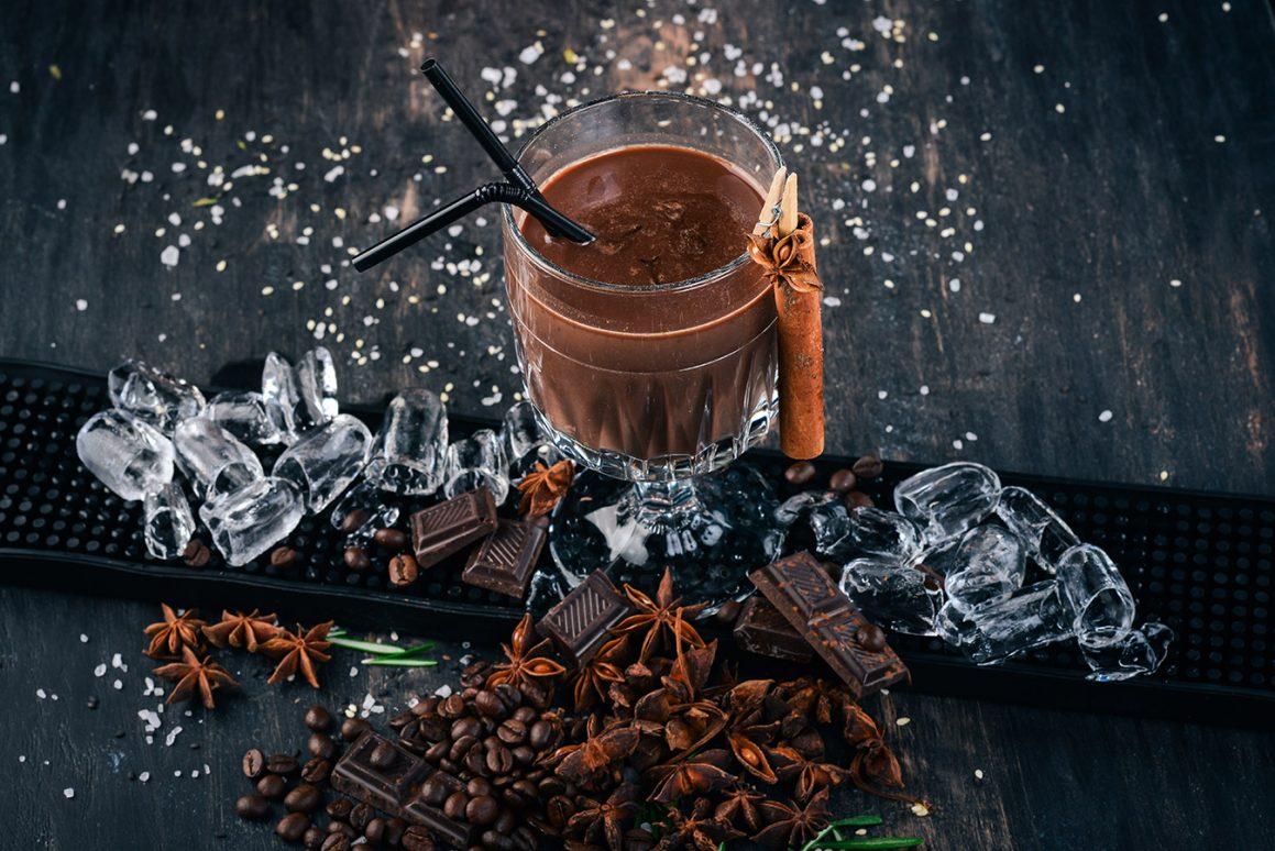 Novogodisnji cokoladni kokteli