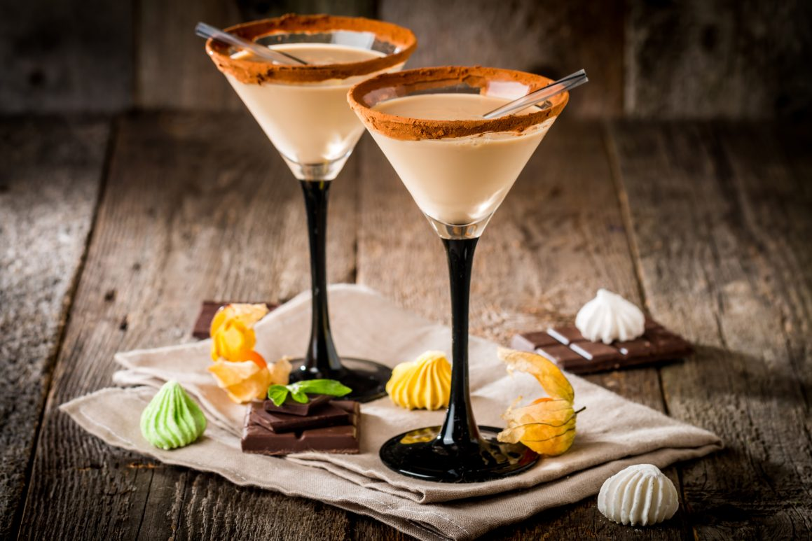 Čokoladni martini koktel
