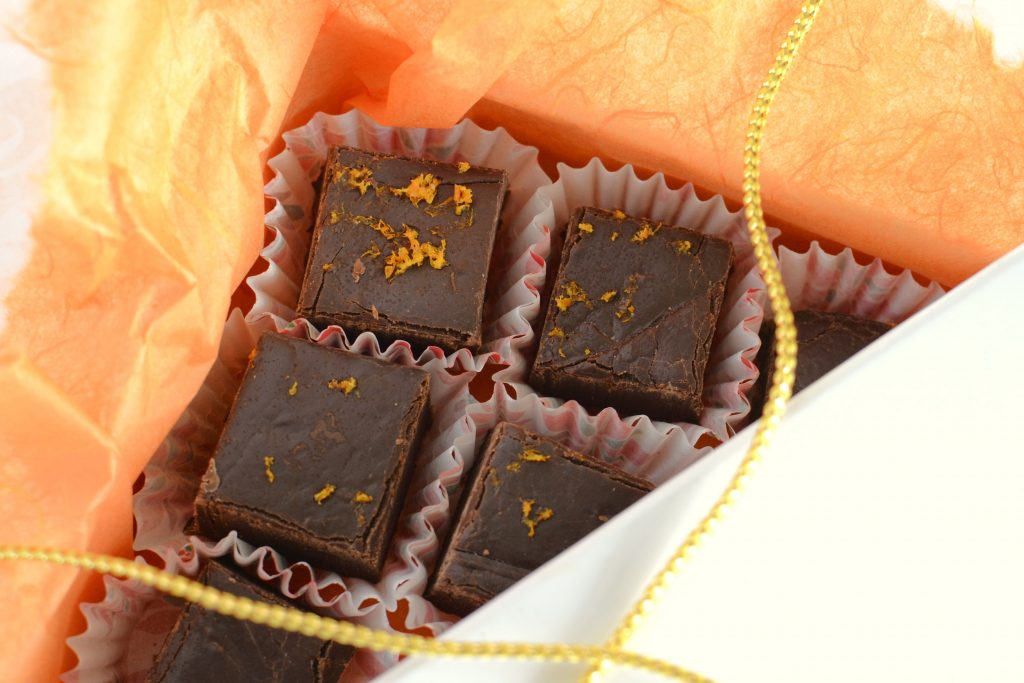 homemade-orange-chocolate-fudge-being-wrapped-to-g-FZEK3L5